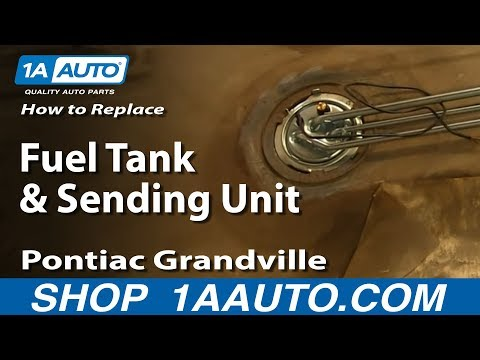 How To Replace Fuel Tank & Sending Unit 71-76 Pontiac Grandville