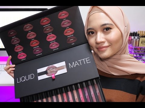 huda-beauty-liquid-matte-lipstick-full-collection-swatches-|-16-shades