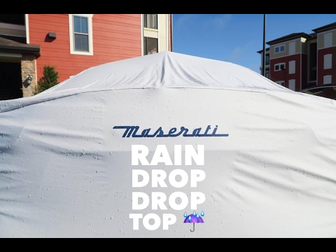 Does the Maserati Ghibli Outdoor Car Cover Really Work???