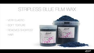 Stripless Blue Film Wax Youtube