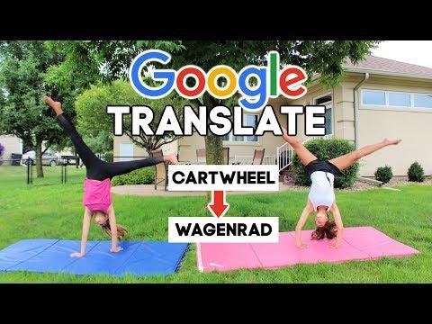GOOGLE TRANSLATE GYMNASTICS CHALLENGE PART 2