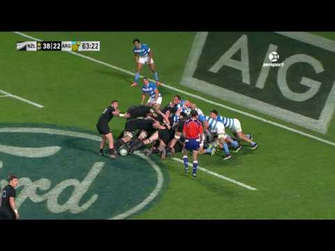 Rugby Championship 2016 Rd 3: New Zealand v Argentina