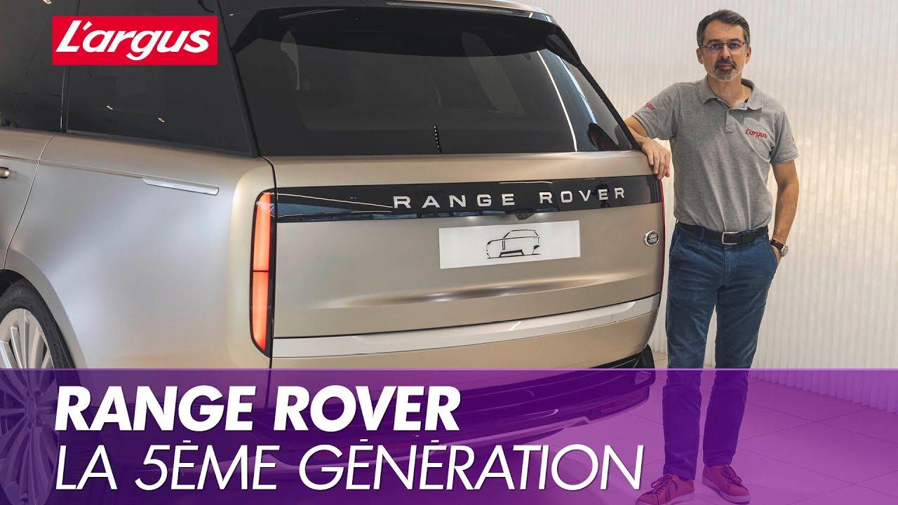 Range Rover 2022 Notre avis  bord de la cinquime gnration