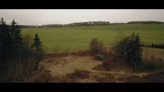DJI Mavic Pro flying over the forest