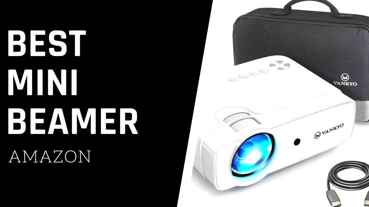 Projektor 1280*720P mit Tragetasche unterst/ützt 1080P Multimedia LED 50000 Stunden Heimkino Video Fu/ßball Spiel Spa/ß Kompatibel mit HDMI//VGA//USB//AV Mini Beamer Full HD 4000 Lumens