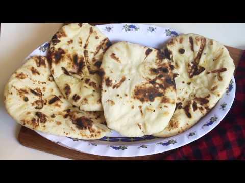 চুলায় তৈরী নান রুটি || Bangladeshi Nan Ruti Recipe || How to Make Nan