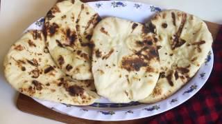 চুলায় তৈরী নান রুটি    Bangladeshi Nan Ruti Recipe    How to Make Nan Video