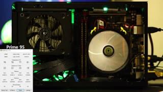 cooltek lp53 with ty 100 fan in dan a4 sfx case