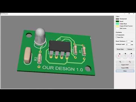 Printed Circuit Board Design : Beginner. Step by step