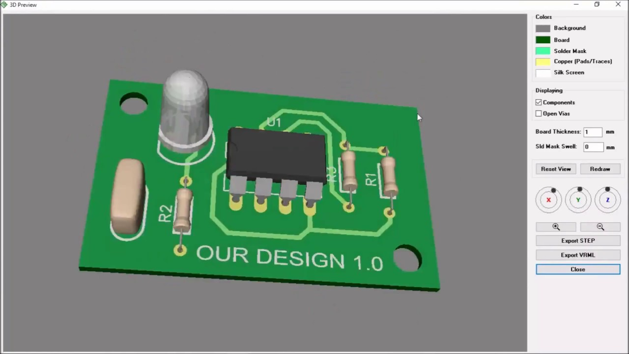 Printed Circuit Board Design : Beginner. Step by step - YouTube