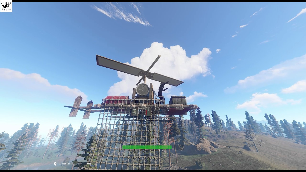 Vinylfresh Rust Admin Fly Your Own Gyrocopter Mod Test