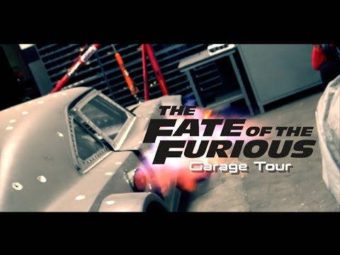 Fate Of The Furious Garage Tour! - How Dom Drives 100MPH in REVERSE (EXPLAINED)