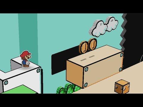Green Energy Plant (100% Colorization Guide) - Paper Mario: Color Splash Walkthrough