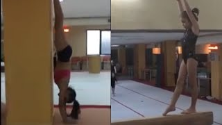 GYMNASTICS TRAINING (BEAM, UNEVEN BAR, FLOOR, VAULTH)