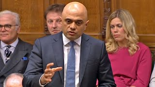 video: Sajid Javid warns against Treasury takeover and fires parting shot at Dominic Cummings