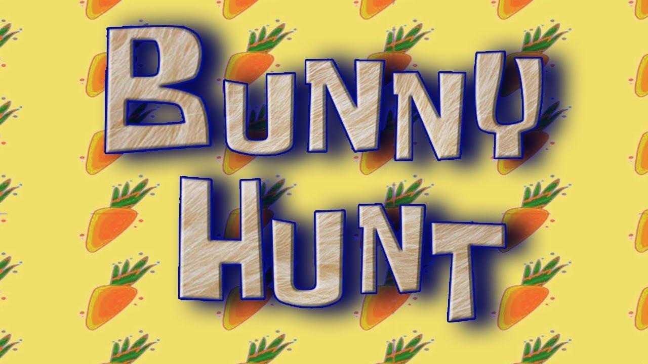 spongebob  bunny hunt title card  custom  f 2