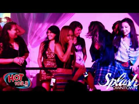 "Kat Deluna: Drop it Low ""Live Dance Off @ Splash Night Club"""
