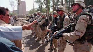 The capture of Saddam Hussein in 2003