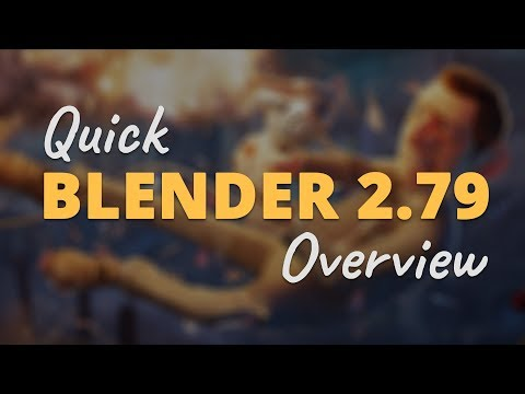 Quick Blender 2.79 Feature Overview