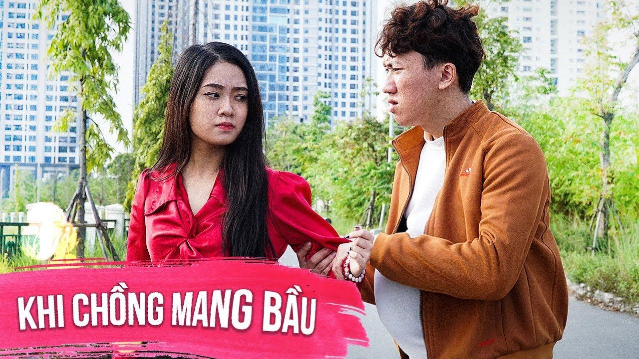 Khi Chồng Mang Bầu - Phim Ngắn Tình Cảm Hài Hước - Huhi Media