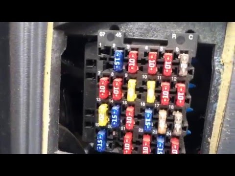 [SCHEMATICS_4HG]  Chevy Blazer 1995-2005 Fuse Box Location - YouTube | Fuse Box 1996 Chevy Blazer |  | YouTube