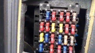 Chevy Blazer 1995-2005 Fuse Box Location - YouTube | 2004 Chevy Blazer Fuse Box |  | YouTube