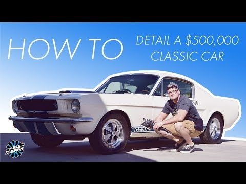 How To Detail A Half Million Dollar Car | 1965 Shelby GT350