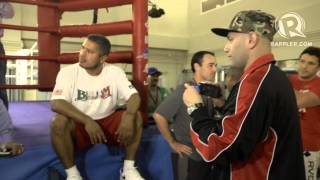 Freddie Roach fight with Brandon Rios