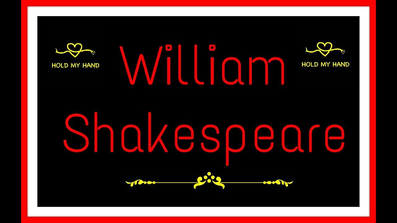 Frase Para Crianças De Carinho: William Shakespeare L Frases