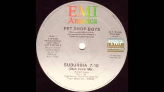 Baixar Suburbia (Club Vocal Mix) - Pet Shop Boys