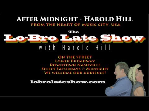 LoBro Late Show  Musical segment  Harold Hill from pilot episode After Midnight