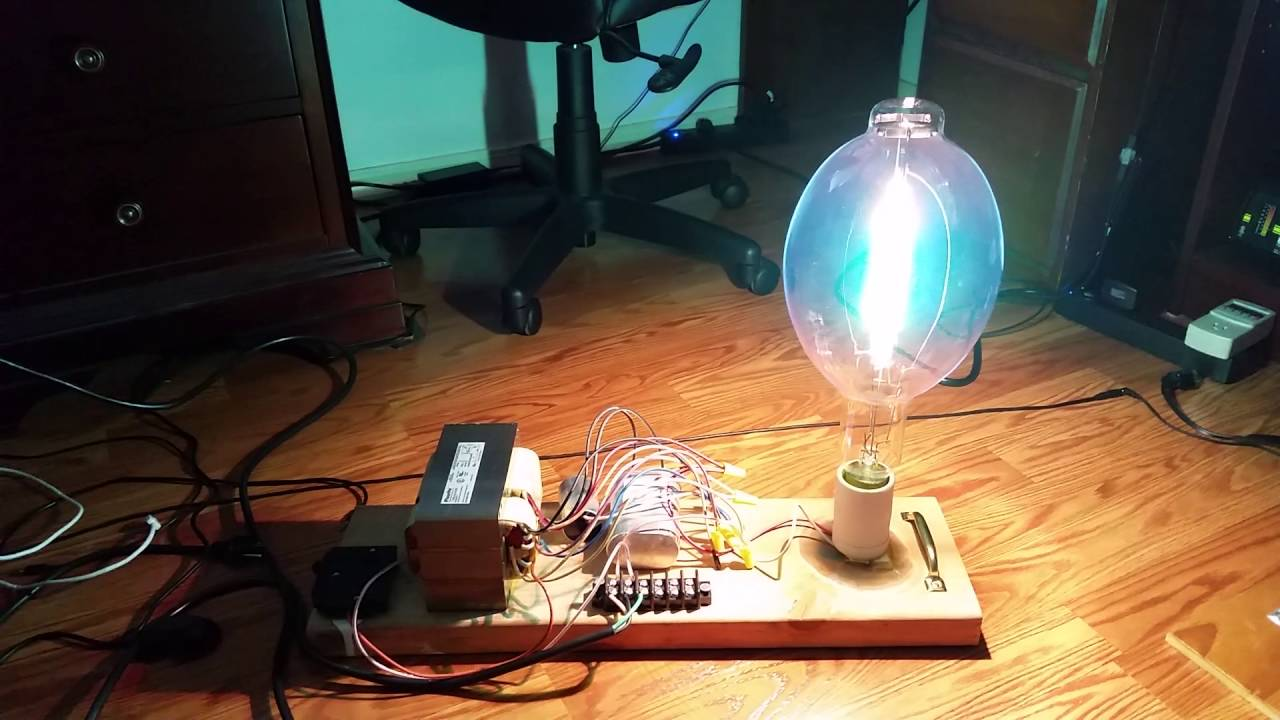 hight resolution of 110 000 lumen 1000 watt metal halide setup