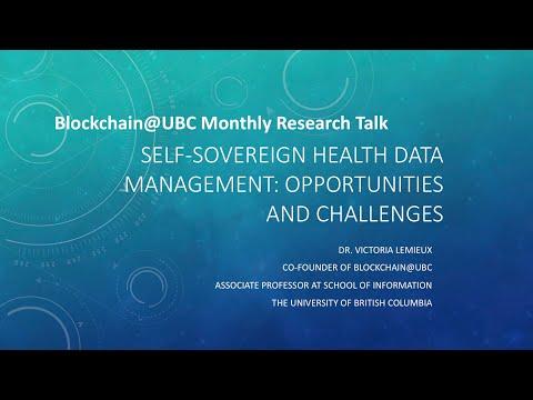 Blockchain@UBC Monthly Research Talk- July 21st- Dr. Victoria Lemieux