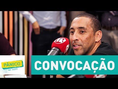 Serginho conta história emocionante (e curiosa) de quando foi convocado pela 1ª vez para Seleção