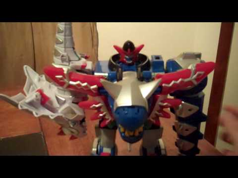 Deluxe Blizzard Force Megazord Review