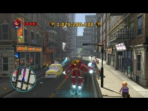 LEGO Marvel Super Heroes – Open World Free Roam – Chinatown Area (Lower East Side)