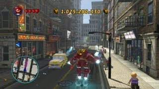 LEGO Marvel Super Heroes - Open World Free Roam - Chinatown Area (Lower East Side)