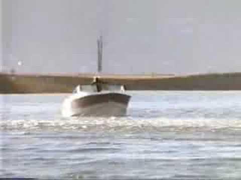Terminator Woman Boat Fight