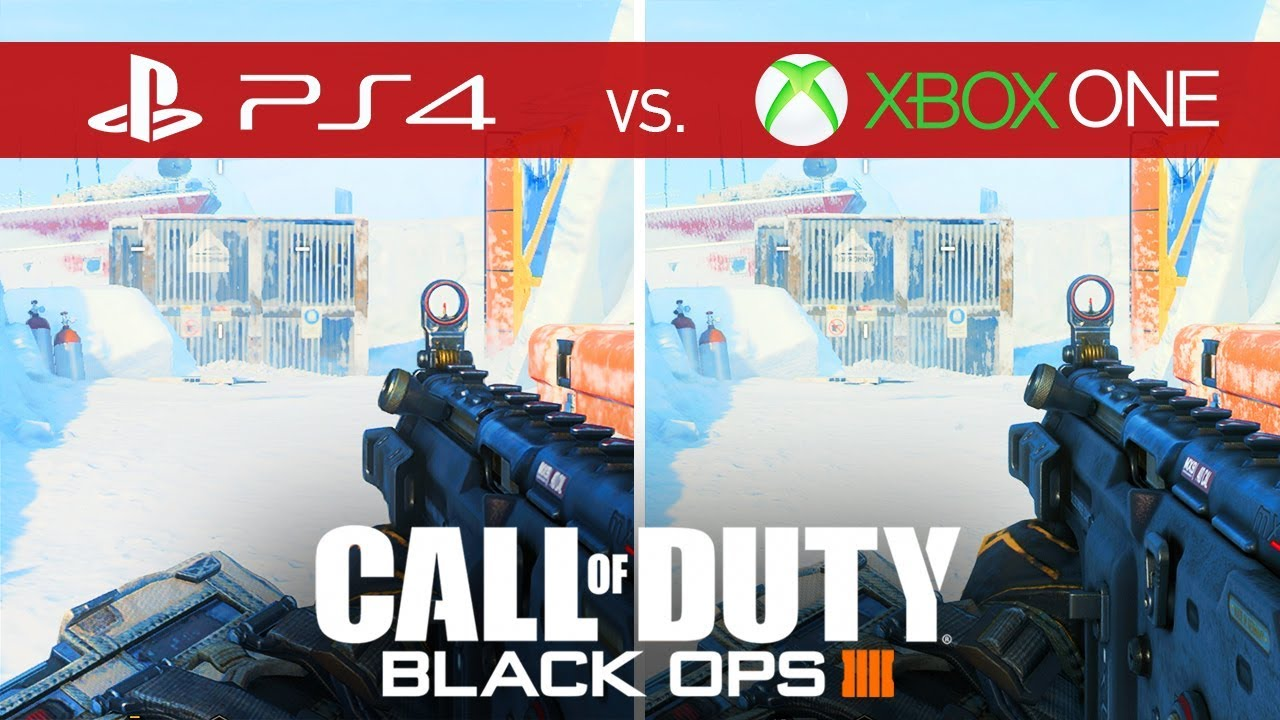 Call Of Duty Black Ops 4 Comparison Xbox One Vs Xbox One S Vs