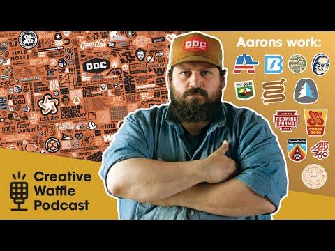 ep. 50 - aaron draplin - q&a music, trump, quitting design? ai worlds   creative waffle