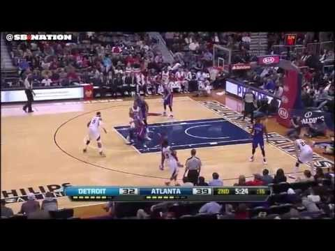 Josh Smith/Al Horford pick and roll