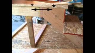 How To Create An Excellent Horizontal Stair Stringer Connection To A Landing Or Floor