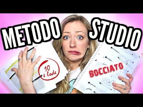 IL MIO METODO DI STUDIO!!! 2018 | EMtv