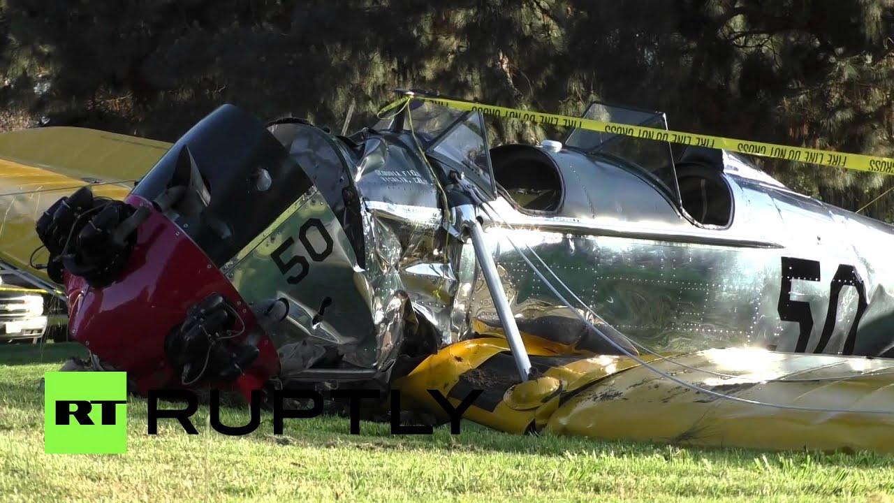 Харрисон Форд выжил после крушения самолета
