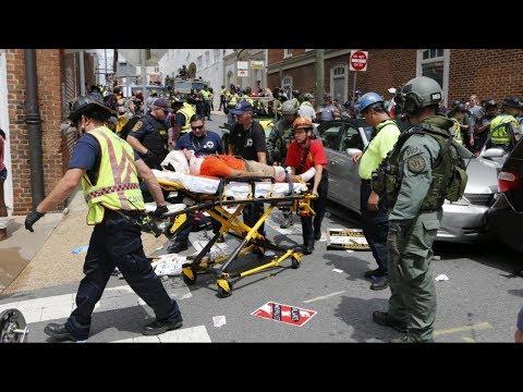White nationalist rally turns violent in Charlottesville, VA