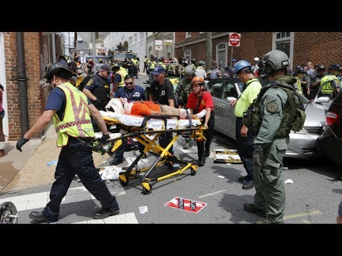White nationalist rally turns violent in Charlottesville, VA
