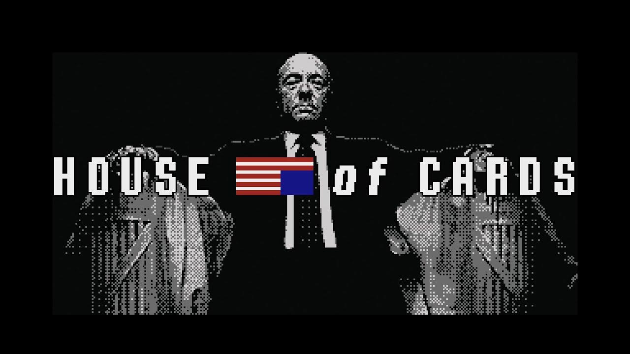 House of Cards (8 bit Nintendo Game Parody) - YouTube