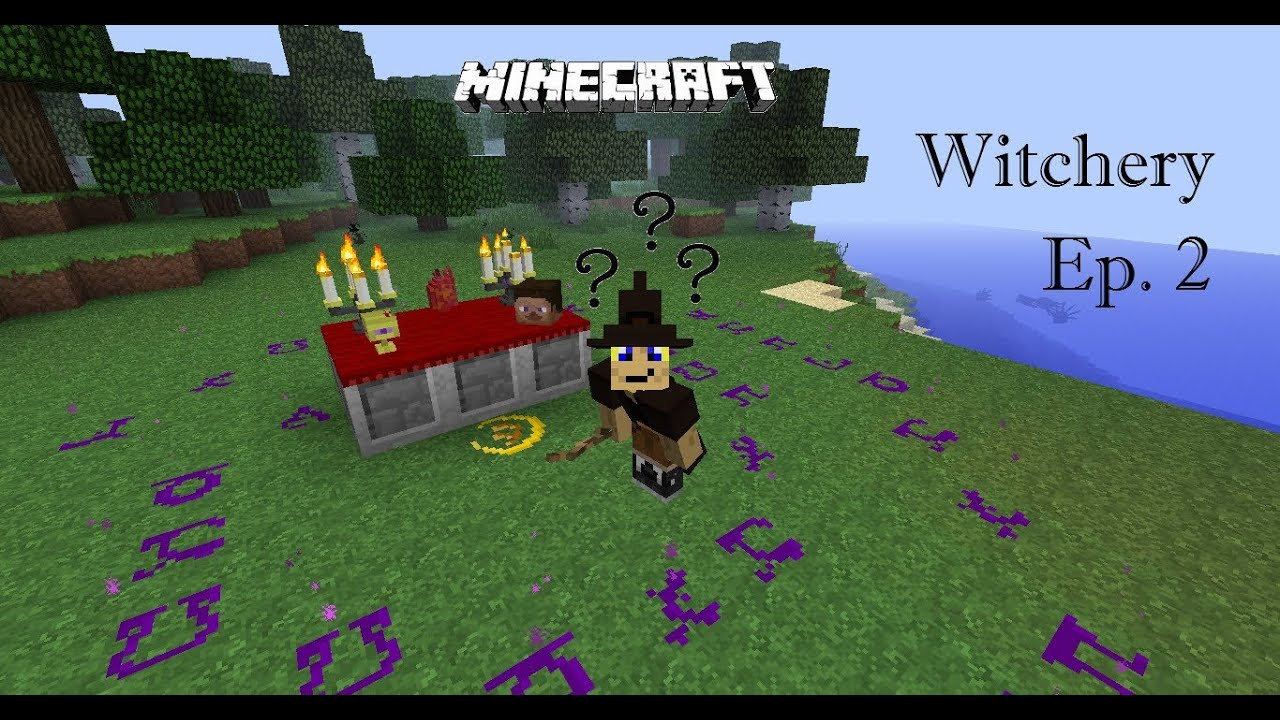 """Minecraft Witchery Mod Ep. 2 """"Infused and Confused"""" - YouTube"""