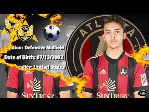 Tarek Sirdah Atlanta United U17 Highlights