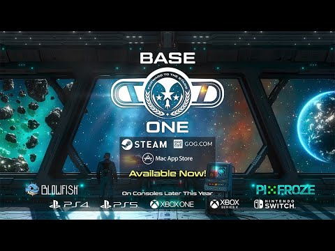 Base One - Launch Trailer - Available now on Steam, GOG and Mac!